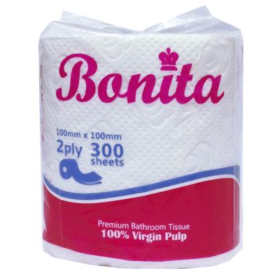Bonita Tissue 2-Ply 300 Sheets Singles