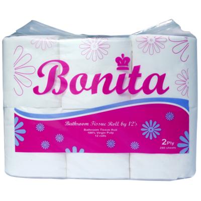 Bonita Tissue 2-Ply 300 Sheets by 12s