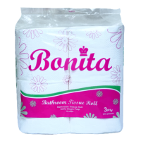 Bonita Tissue 3-Ply 450 Sheets by 4s