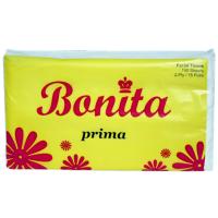 Bonita Prima Facial Tissue 2-Ply 75 Pulls